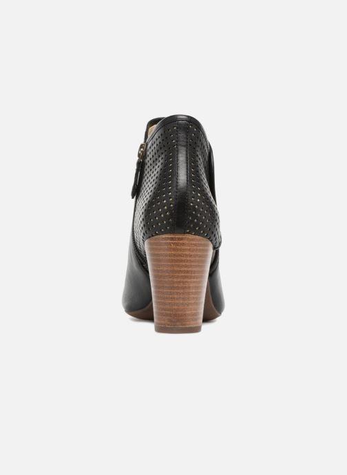 Bottines et boots Geox D EUDORA G D828ZG Noir vue droite