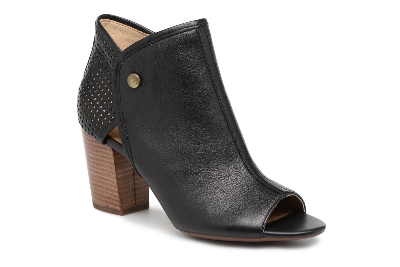 Bottines et boots Geox D EUDORA G D828ZG Noir vue détail/paire