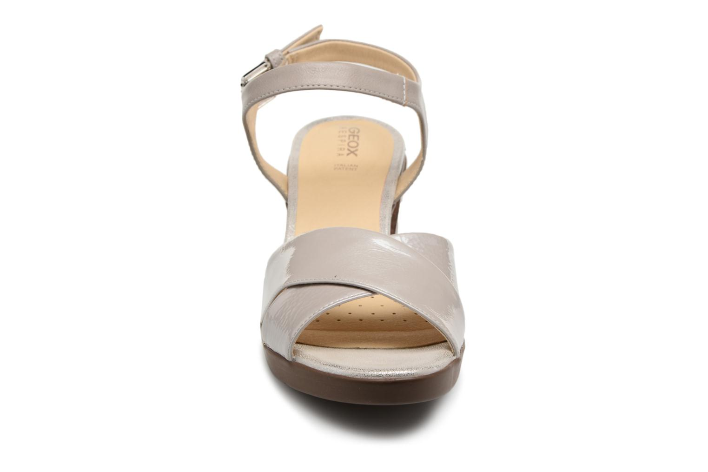 Sandali e scarpe aperte Geox D ANNYA M.S. C D827XC Grigio modello indossato