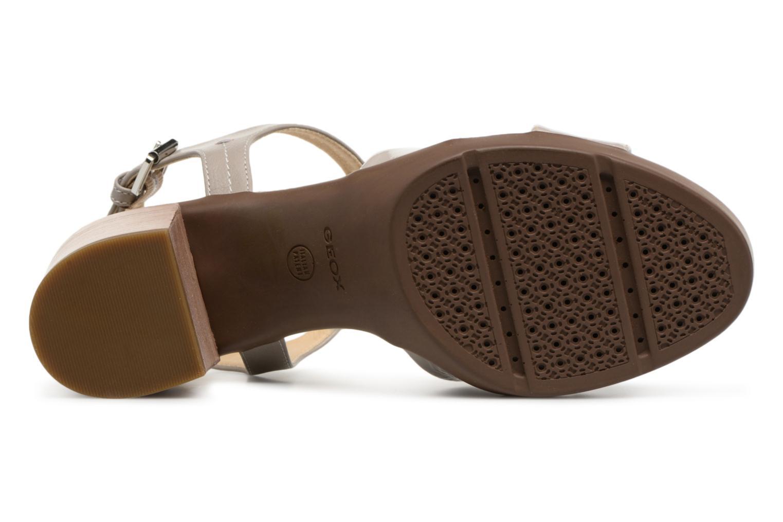 Sandali e scarpe aperte Geox D ANNYA M.S. C D827XC Grigio immagine dall'alto