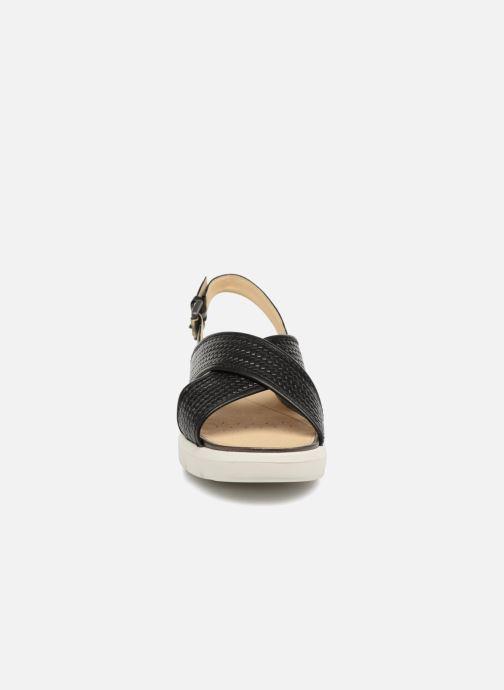 B Black pieds Amalitha D827wb Nu D Geox Sandales Et UzpGqSVM