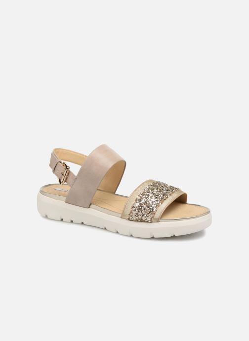 Geox D AMALITHA G D827WG (Beige) Sandali e scarpe aperte