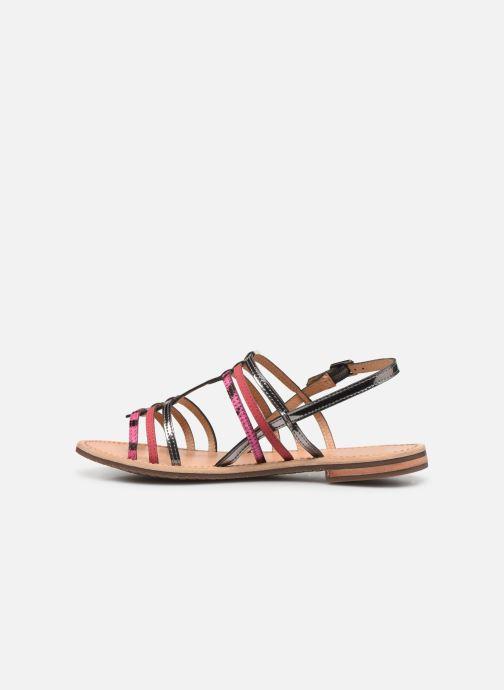 Sandales et nu-pieds Geox D SOZY H D822CH Rose vue face