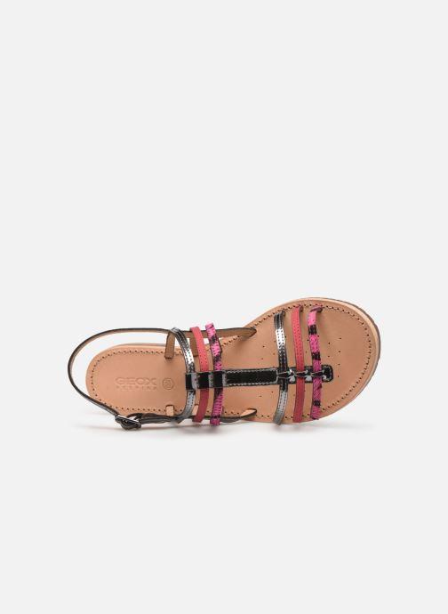 Sandales et nu-pieds Geox D SOZY H D822CH Rose vue gauche