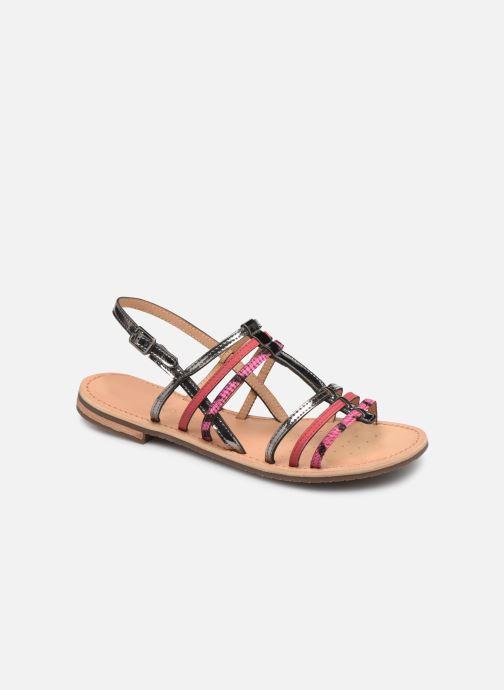 Sandales et nu-pieds Geox D SOZY H D822CH Rose vue détail/paire