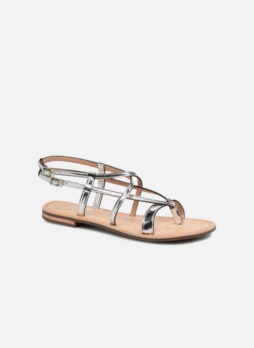 Geox D SOZY C D822CC (silber) - Sandalen bei Más cómodo