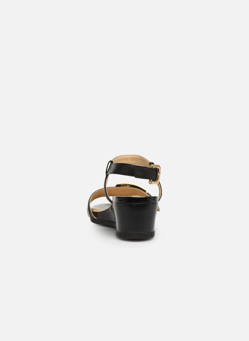 Sandales et nu-pieds Geox D MARYKARMEN D D828QD Noir vue droite
