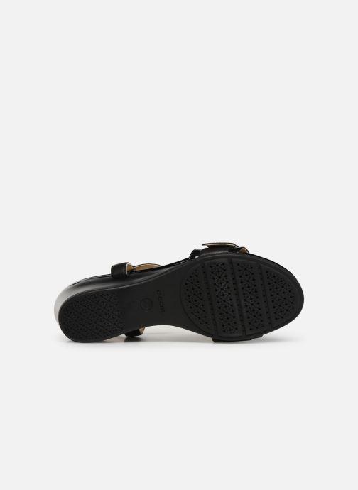 Sandales et nu-pieds Geox D MARYKARMEN D D828QD Noir vue haut