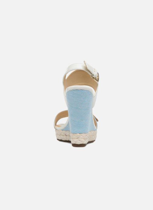Sandales et nu-pieds Geox D JANIRA E D82P6E Blanc vue droite