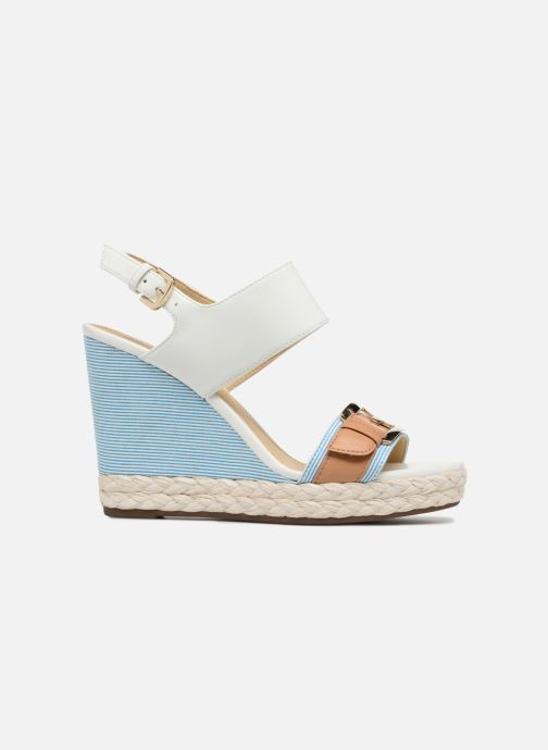 Sandales et nu-pieds Geox D JANIRA E D82P6E Blanc vue derrière