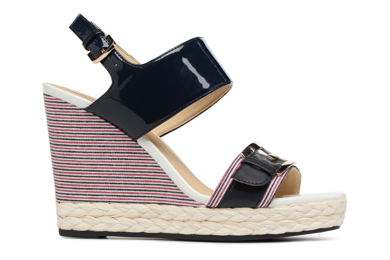 Sandales et nu-pieds Geox D JANIRA E D82P6E Bleu vue derrière