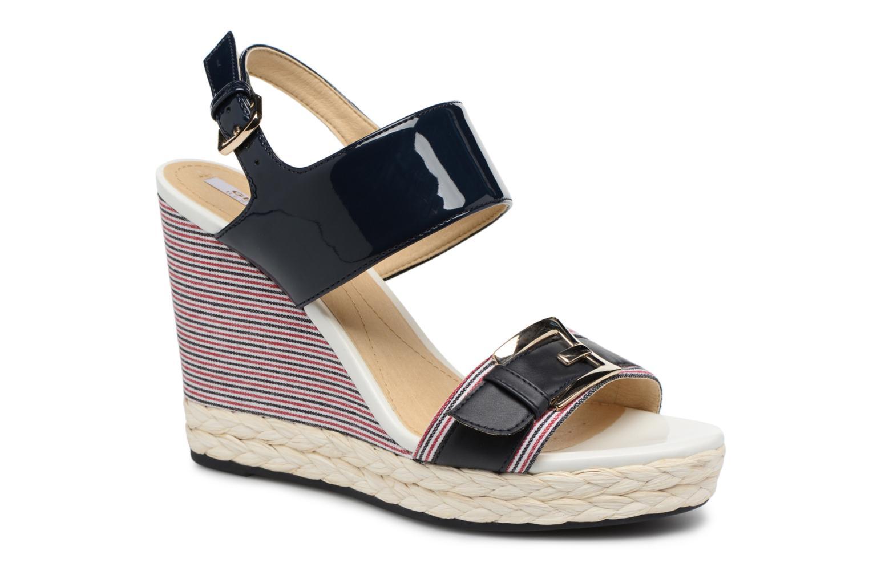 Sandales et nu-pieds Geox D JANIRA E D82P6E Bleu vue détail/paire