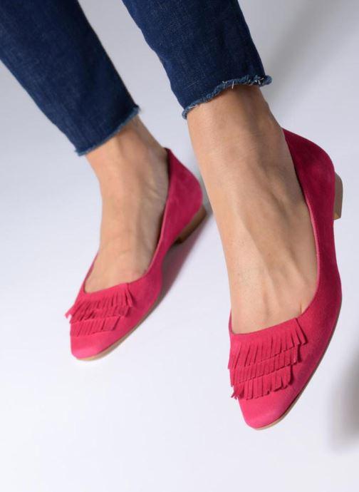 Ballerina's Made by SARENZA UrbAfrican Ballerines #4 Roze onder