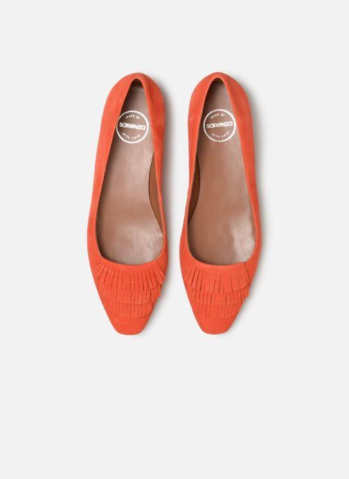 Ballerines Made by SARENZA UrbAfrican Ballerines #4 Orange vue portées chaussures
