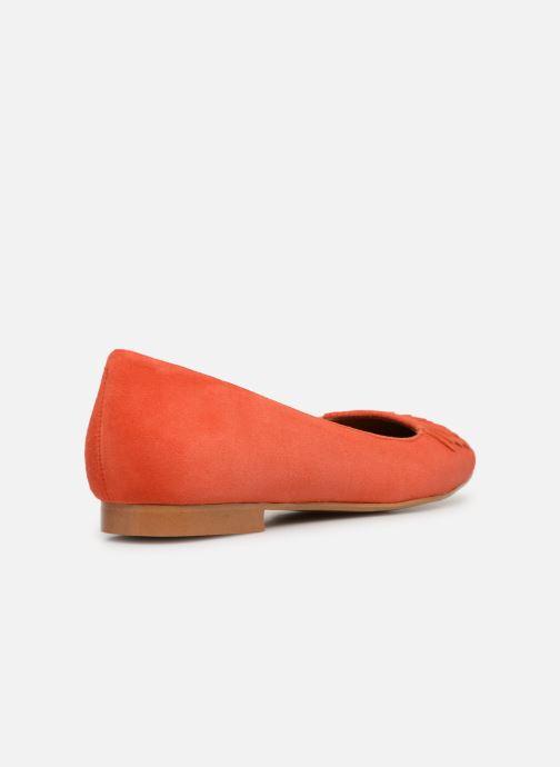 Ballerinas Made by SARENZA UrbAfrican Ballerines #4 orange ansicht von vorne