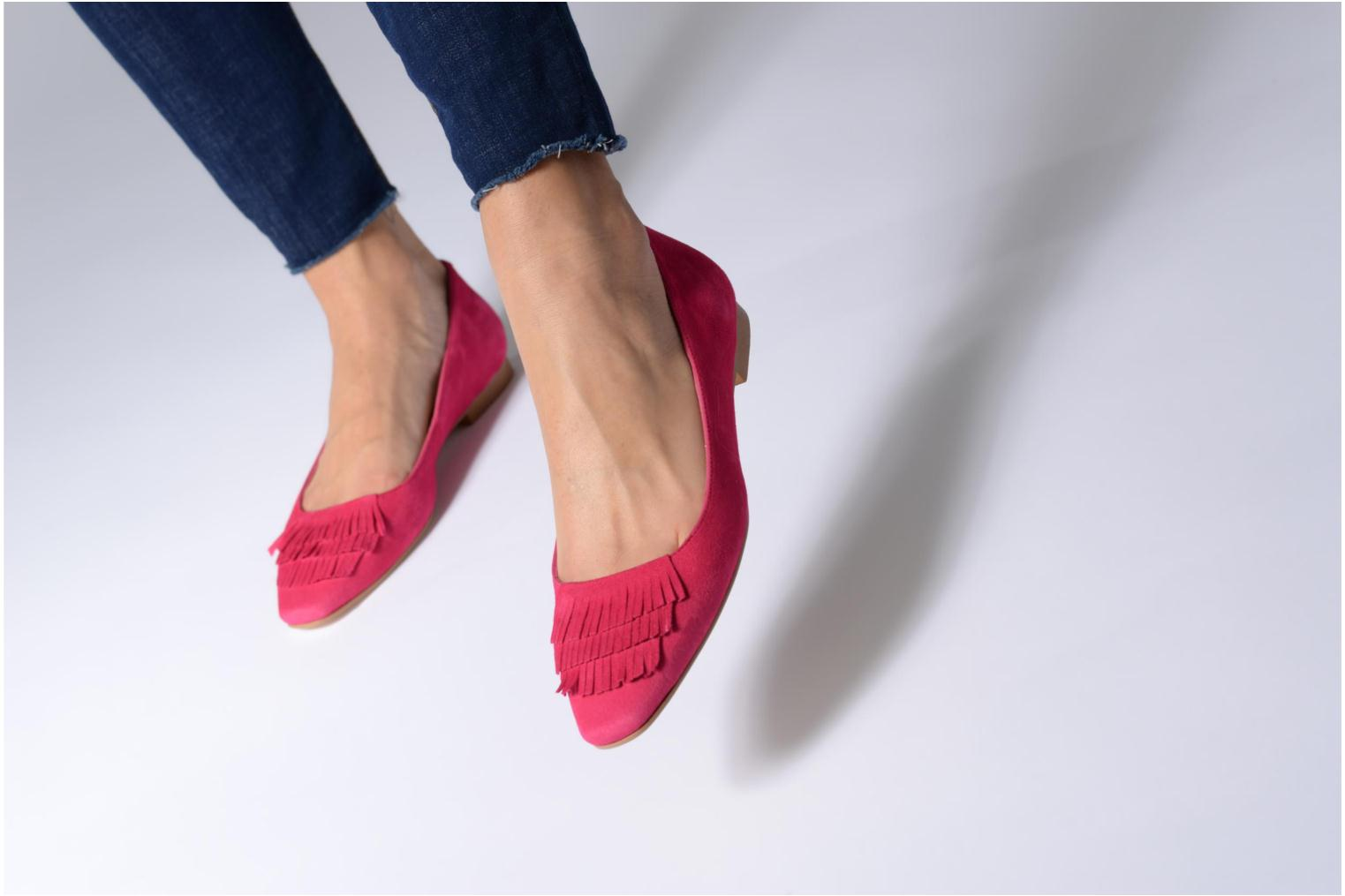 Ballet pumps Made by SARENZA Bombay Babes Ballerines #1 Pink view from underneath / model view
