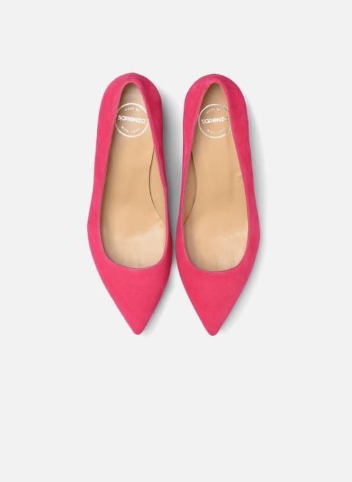 Zapatos de tacón Made by SARENZA Africa Vibes Escarpin #1 Rosa vista del modelo