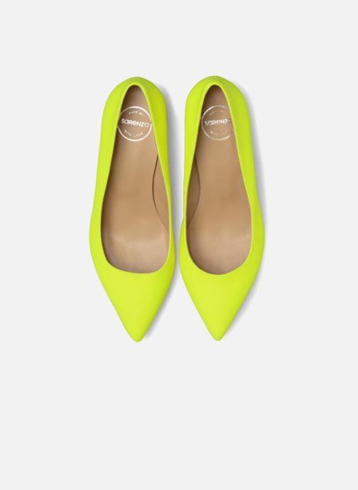 High heels Made by SARENZA Pastel Affair Escarpins #9 Yellow model view