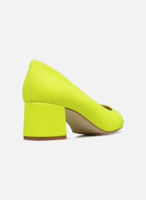 High heels Made by SARENZA Pastel Affair Escarpins #9 Yellow front view