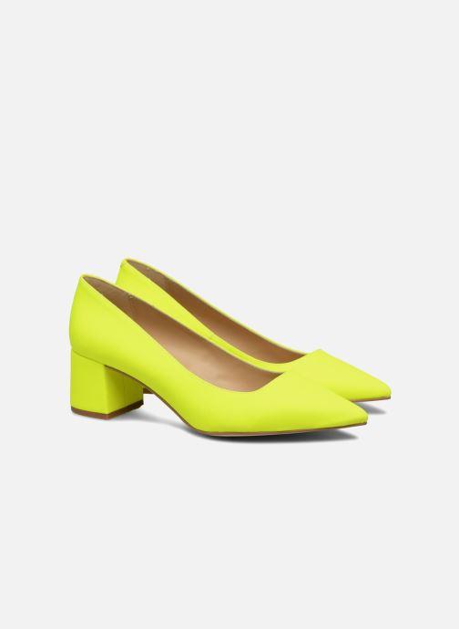 High heels Made by SARENZA Pastel Affair Escarpins #9 Yellow back view
