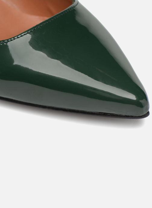 Pumps Made by SARENZA Africa Vibes Escarpin #1 grün ansicht von links