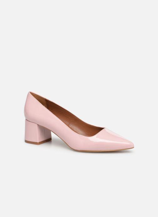 Zapatos de tacón Made by SARENZA Africa Vibes Escarpin #1 Rosa vista lateral derecha