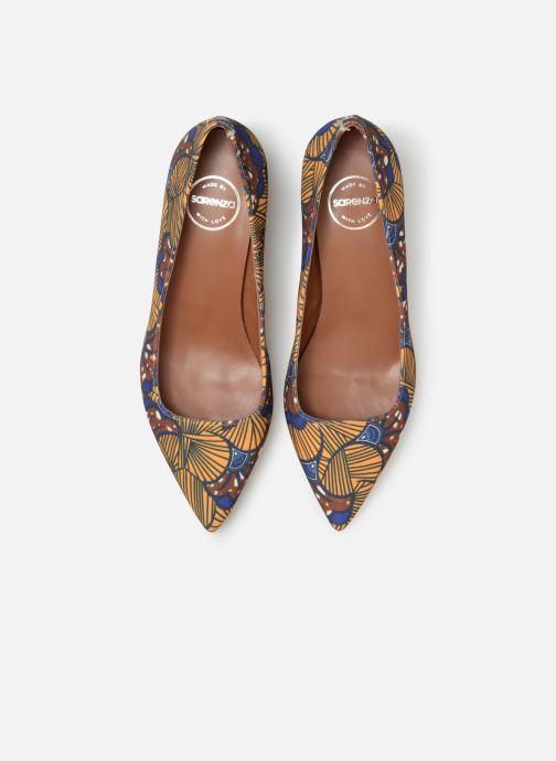 Escarpins Made by SARENZA Africa Vibes Escarpin #1 Jaune vue portées chaussures