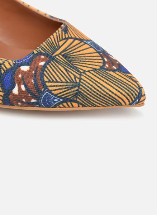 Escarpins Made by SARENZA Africa Vibes Escarpin #1 Jaune vue gauche