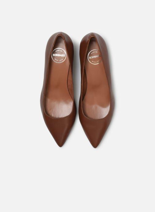 Escarpins Made by SARENZA Africa Vibes Escarpin #1 Marron vue portées chaussures