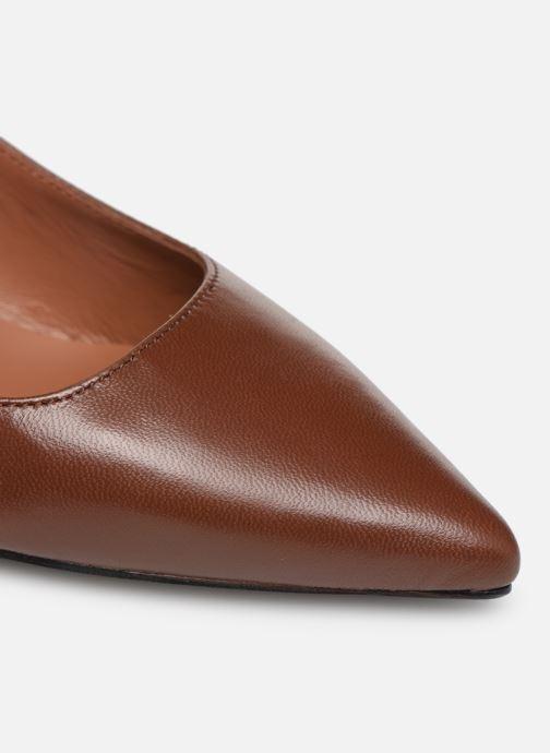 Zapatos de tacón Made by SARENZA Pastel Affair Escarpins #9 Marrón vista lateral izquierda