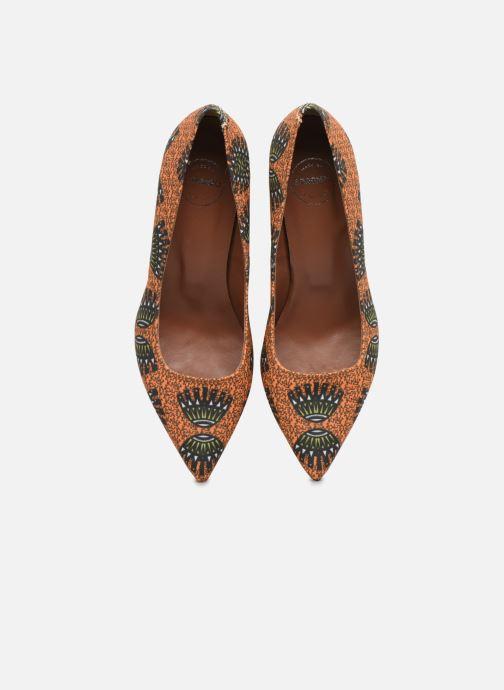 Escarpins Made by SARENZA Africa Vibes Escarpin #1 Orange vue portées chaussures