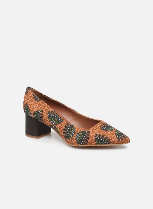 Escarpins Made by SARENZA Africa Vibes Escarpin #1 Orange vue droite