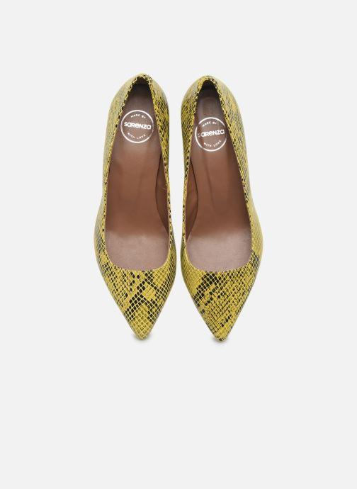 Zapatos de tacón Made by SARENZA Africa Vibes Escarpin #1 Amarillo vista del modelo