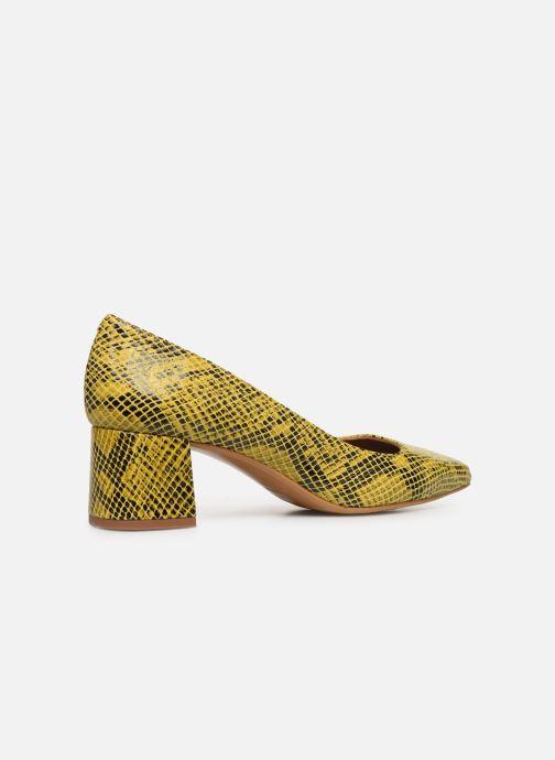 Zapatos de tacón Made by SARENZA Africa Vibes Escarpin #1 Amarillo vista de frente