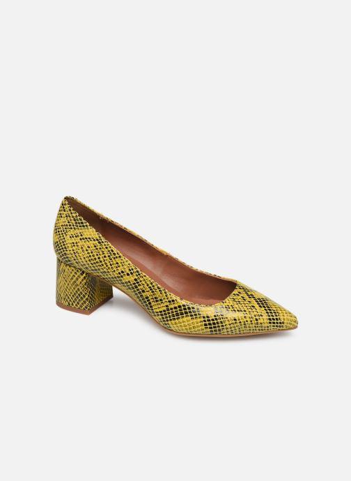 Zapatos de tacón Made by SARENZA Africa Vibes Escarpin #1 Amarillo vista lateral derecha