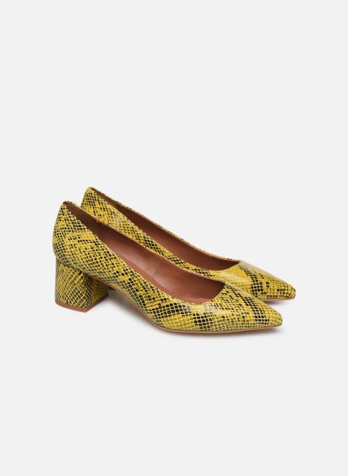 Zapatos de tacón Made by SARENZA Africa Vibes Escarpin #1 Amarillo vistra trasera