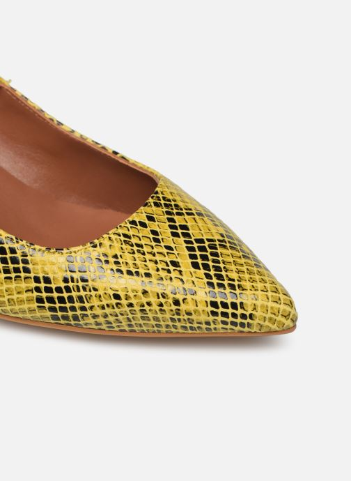 Zapatos de tacón Made by SARENZA Africa Vibes Escarpin #1 Amarillo vista lateral izquierda