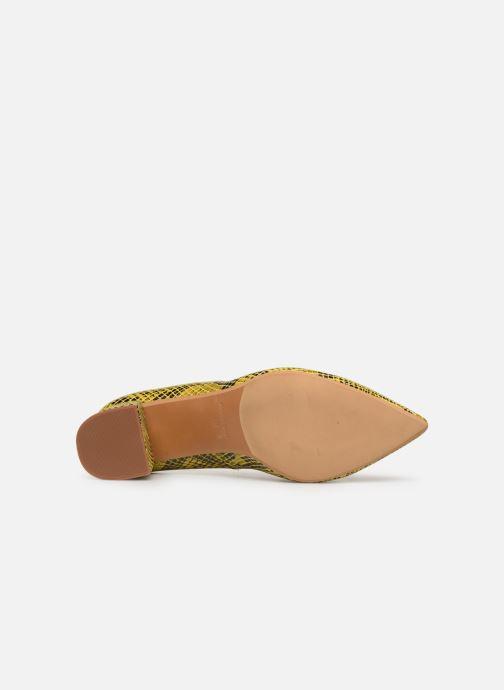 Zapatos de tacón Made by SARENZA Africa Vibes Escarpin #1 Amarillo vista de arriba
