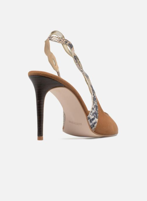 High heels Made by SARENZA Carioca Crew Escarpins #6 Brown front view