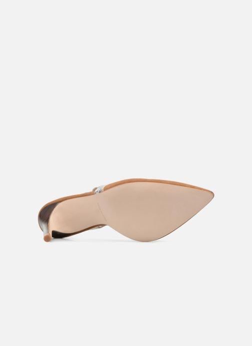 High heels Made by SARENZA Carioca Crew Escarpins #6 Brown view from above