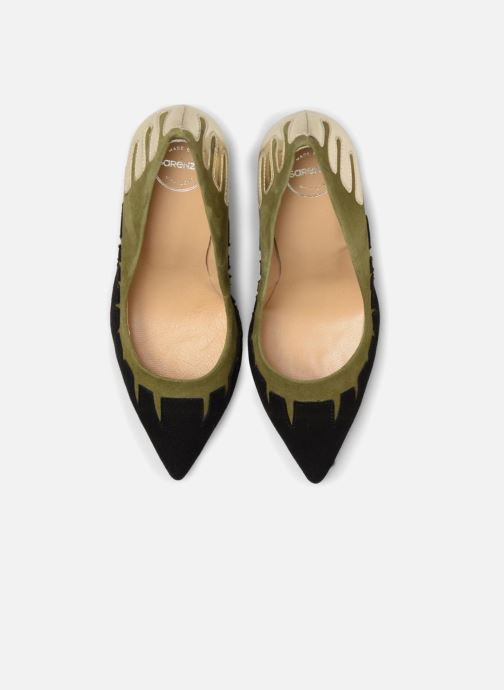 High heels Made by SARENZA Carioca Crew Escarpins #9 Green model view