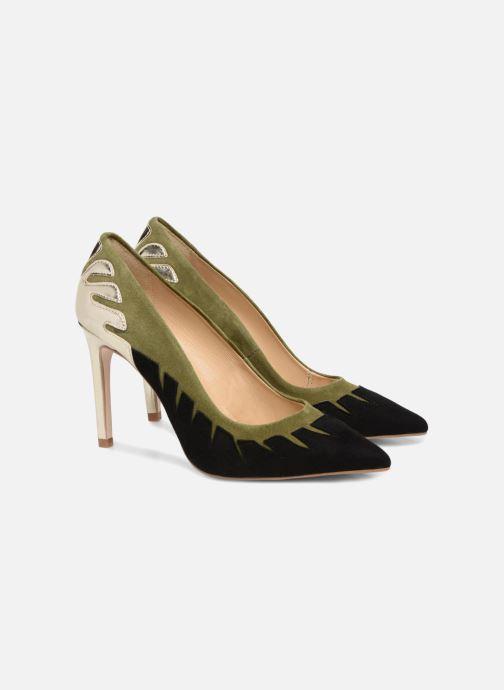 High heels Made by SARENZA Carioca Crew Escarpins #9 Green back view