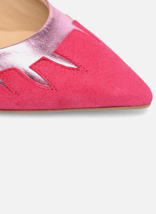 Zapatos de tacón Made by SARENZA Carioca Crew Escarpins #9 Rosa vista lateral izquierda