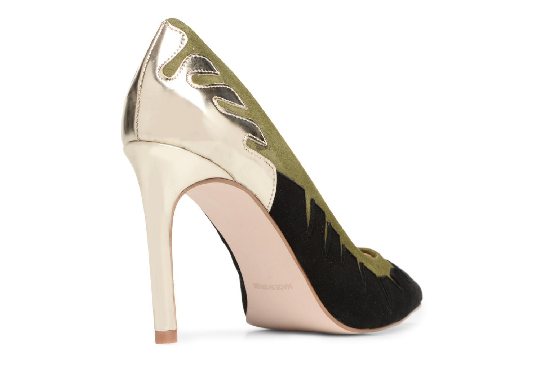 High heels Made by SARENZA Carioca Crew Escarpins #9 Green front view