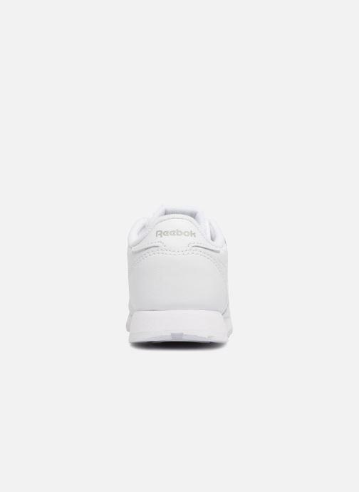 Deportivas Reebok Classic Leather I Blanco vista lateral derecha