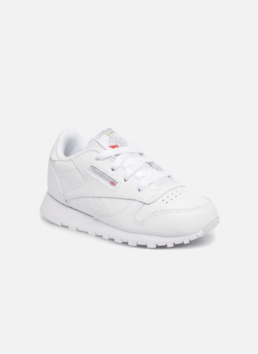 Baskets Reebok Classic Leather I Blanc vue détail/paire