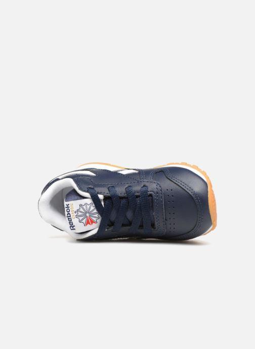 Baskets Reebok Classic Leather I Bleu vue gauche