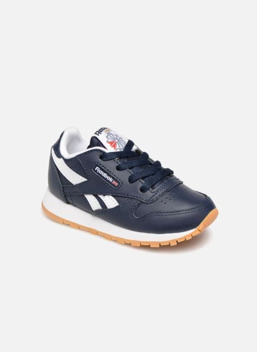 Baskets Reebok Classic Leather I Bleu vue détail/paire