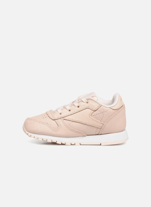 Sneakers Reebok Classic Leather I Beige voorkant