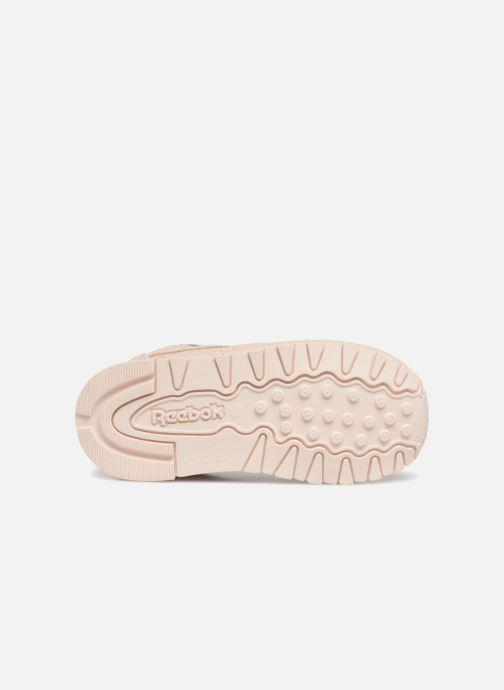 Baskets Reebok Classic Leather I Beige vue haut